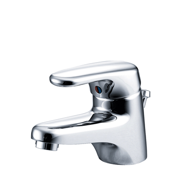 Armitage Shanks (B4447AA) Chrome Plated, Sandringham SL Mono Basin Mixer With Pop Up Waste