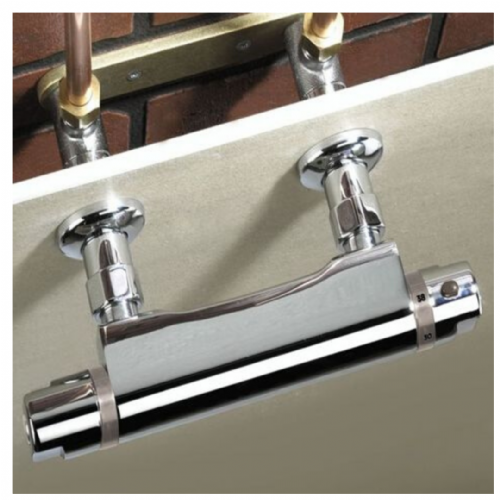 Chrome Plated Bristan WMNT9 C Recessed Wall Mount Fixing