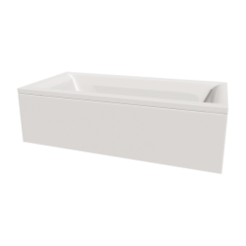 Robert Lee Arley Aura Straight Bath - 1800 x 800mm (Model 327BA1880)